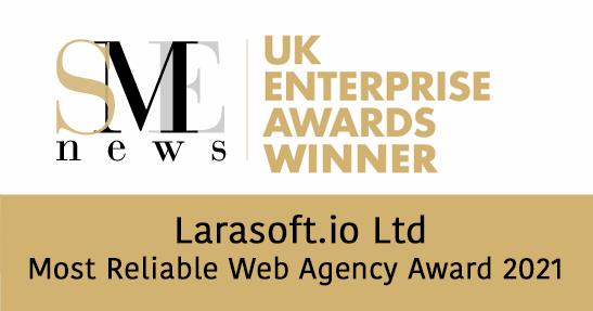 Most Reliable Web Development Agency Award